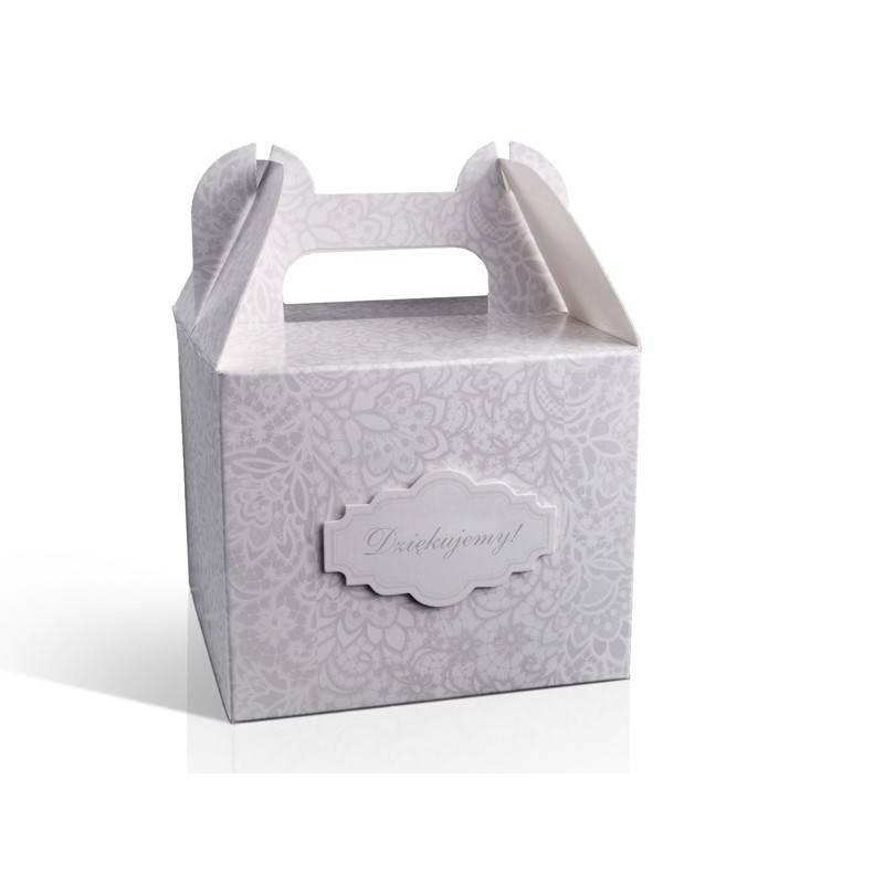 Pudełka na ciasto tekturowe pudełko MINI