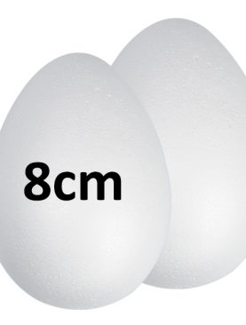 Jajko styropianowe jajka ze styropianu 8 cm