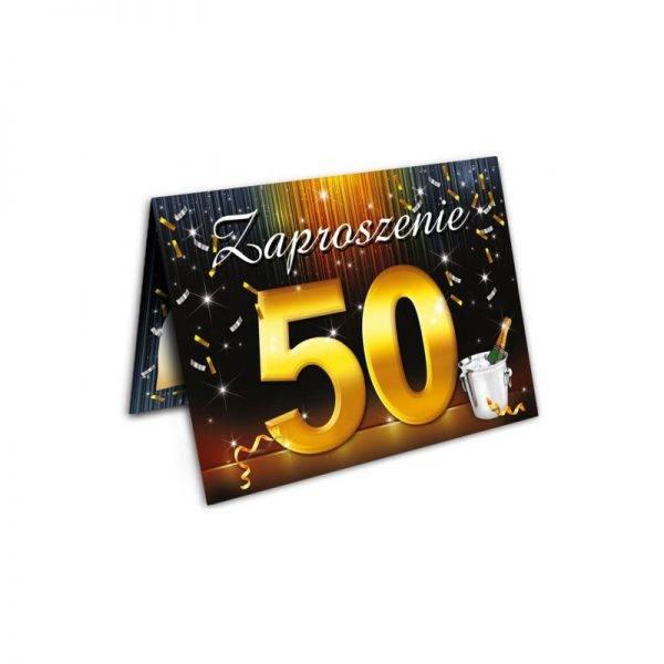 Zaproszenie na urodziny 40 stka Szampan
