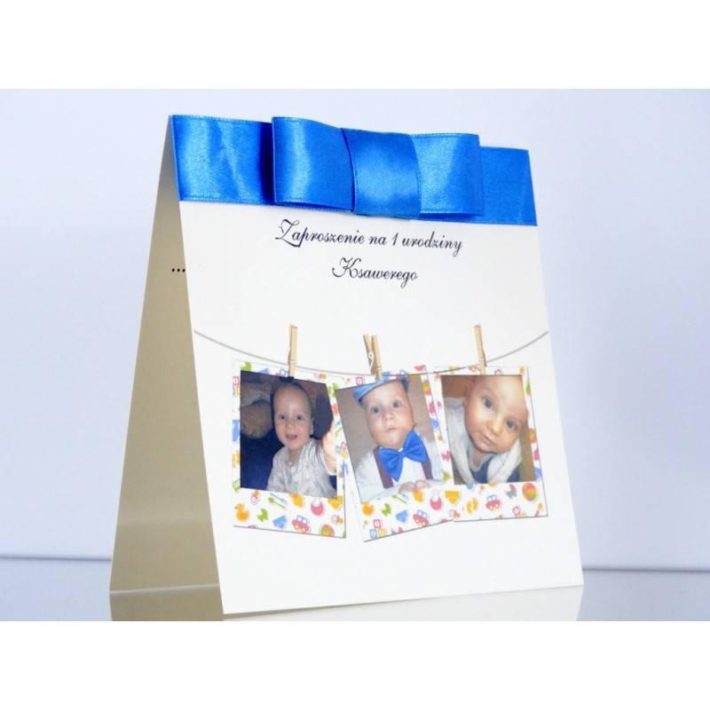 Zaproszenie urodzinowe na Urodzinki Wzór 1