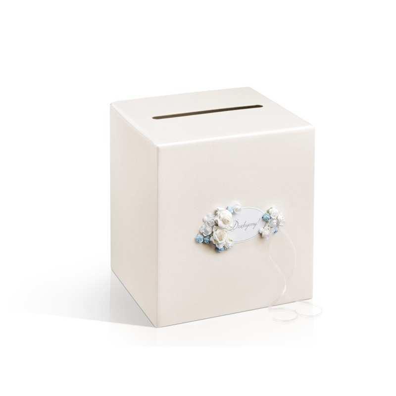 Pudełko na koperty, telegramy kopertówka Kolekcja Piękne Serce