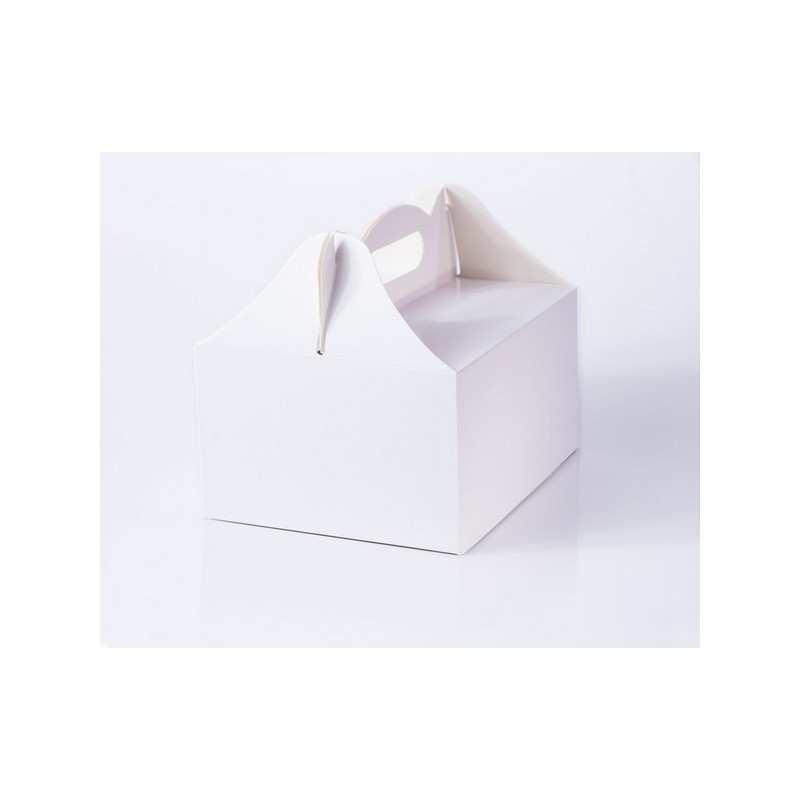 Pudełko na ciasto BIAŁE uniwersalne pudełka