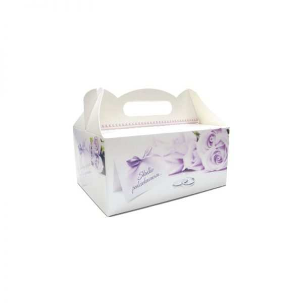 Pudełko na ciasto komunijne pudełka tekturowe