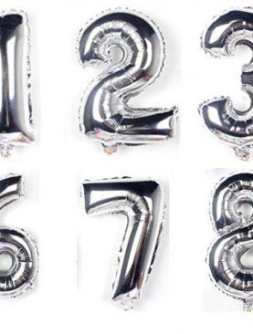 Balon foliowy MEGA cyfry 90 cm wszystkie 1-9