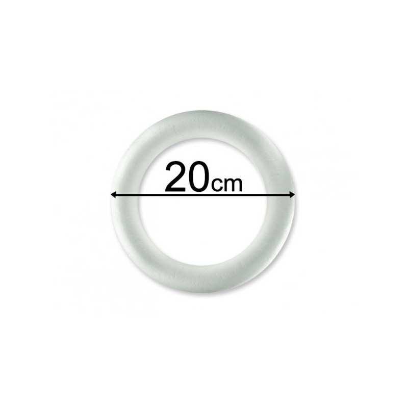 Kula styropianowa kulka 12 cm