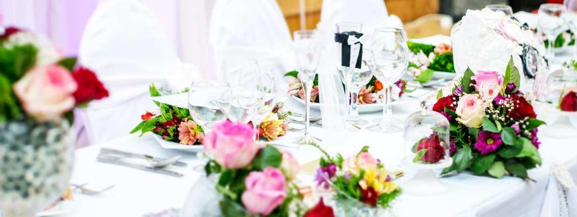 dekoracje na ślub - jak je dobrać?