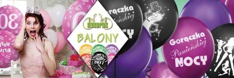 Sklep ślubny Dekorak - Balony