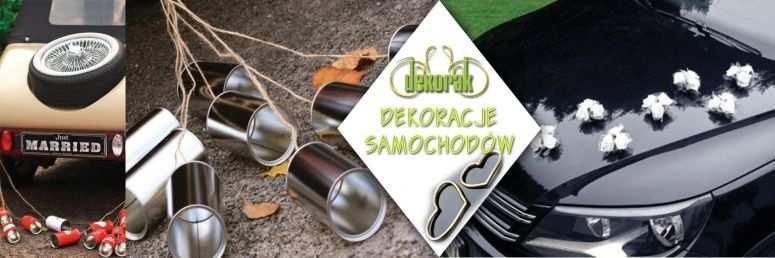 Sklep ślubny Dekorak - Dekoracje samochodów