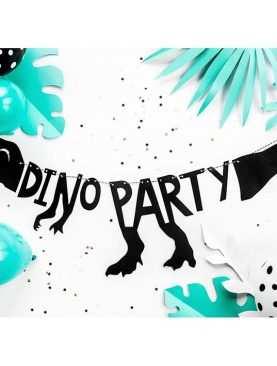 Baner DINOZAURY zwierzątka urodzinowy DINO PARTY