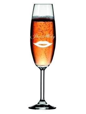 Kieliszek z grawerem grawerowane kieliszki do szampana WZÓR 7