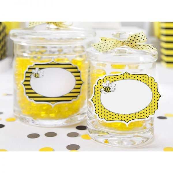 Czapeczki urodzinowe Kolekcja Pszczółka