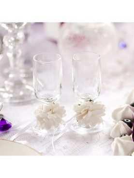Kieliszki do wódki dla Nowożeńców toastowe Kolekcja Bajowy Ogród