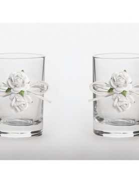 Kieliszki do wódki dla Nowożeńców toastowe 30 ml Kolekcja Piękne Serce