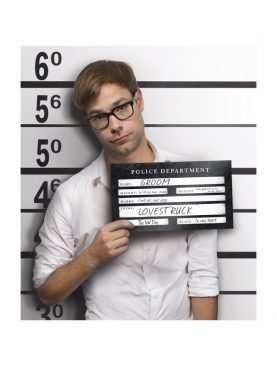 Tabliczki do sesji zdjęciowej Aresztowany