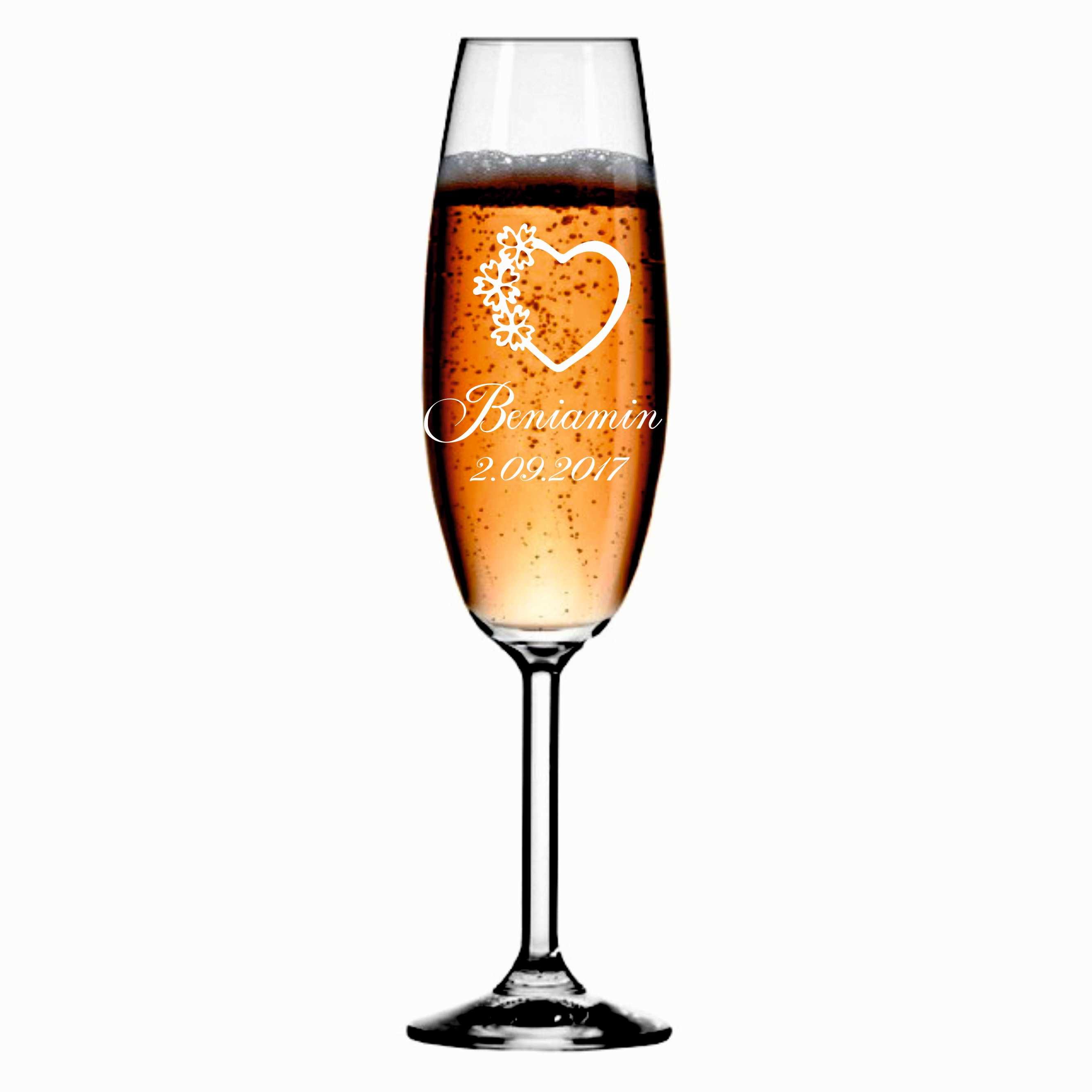7811136c9f Kieliszek z grawerem grawerowane kieliszki do szampana WZÓR 9 - Dekorak