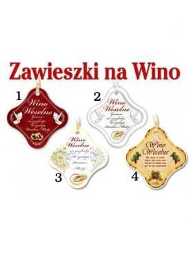 Zawieszki na wino przywieszki dekoracja alkoholu