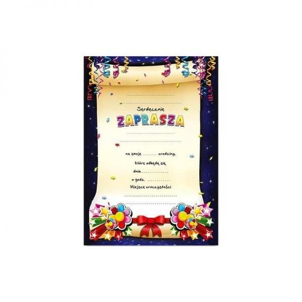 Zaproszenie na urodziny urodziny dla dzieci Wzór Misio różowy