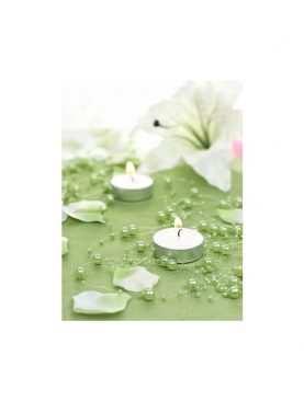Girlanda perełkowa girlandy perłowe 5 szt 130 cm kolor seledyn
