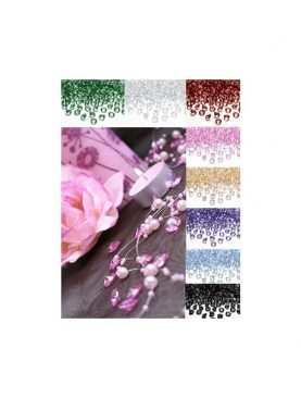 Diamentowe konfetti kryształki kamyczki dekoracyjne