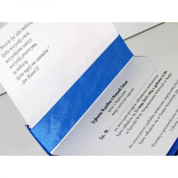 Zaproszenie ślubne zaproszenia na wesele Wzór 18