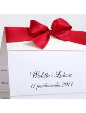 Zaproszenie ślubne zaproszenia na wesele Wzór 46
