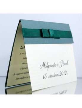 Zaproszenie ślubne zaproszenia na wesele Wzór 50