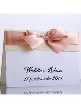 Zaproszenie ślubne zaproszenia na wesele Wzór 55