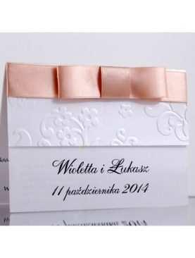 Zaproszenie ślubne zaproszenia na wesele Wzór 56