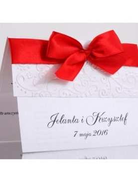 Zaproszenie ślubne zaproszenia na wesele Wzór 57