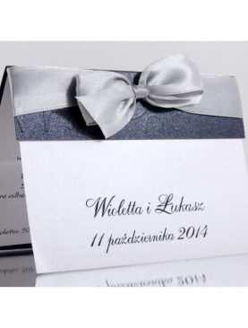 Zaproszenie ślubne zaproszenia na wesele Wzór 58