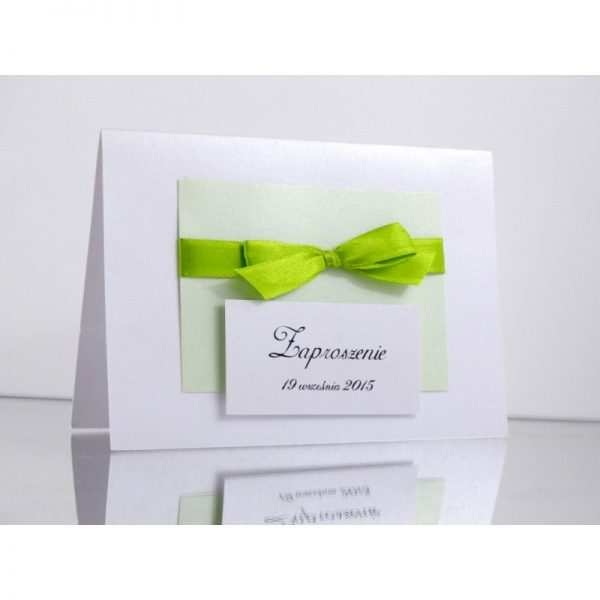 Zaproszenie ślubne zaproszenia na wesele Wzór 60
