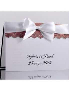 Zaproszenie ślubne zaproszenia na wesele Wzór 64