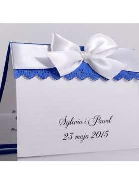 Zaproszenie ślubne zaproszenia na wesele Wzór 68