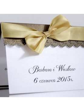 Zaproszenie ślubne zaproszenia na wesele Wzór 70