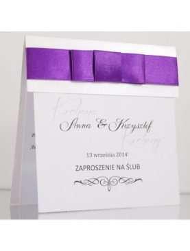 Zaproszenie ślubne zaproszenia na wesele Wzór 89