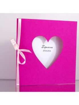 Zaproszenie ślubne zaproszenia na wesele Wzór 92