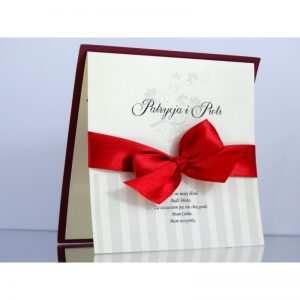 Zaproszenie ślubne zaproszenia na wesele Wzór 99