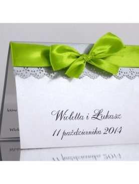 Zaproszenie ślubne zaproszenia na wesele Wzór 105
