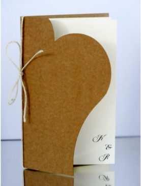Zaproszenie ślubne zaproszenia na wesele Wzór 116 EKO