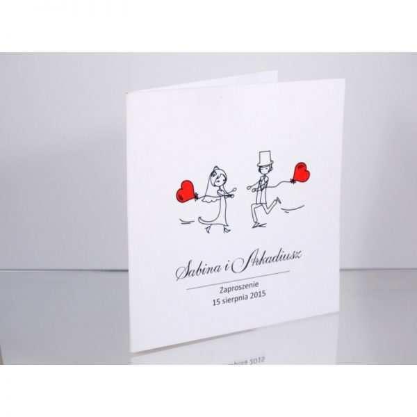 Zaproszenie ślubne zaproszenia na wesele Wzór 118 SPRING LOVE