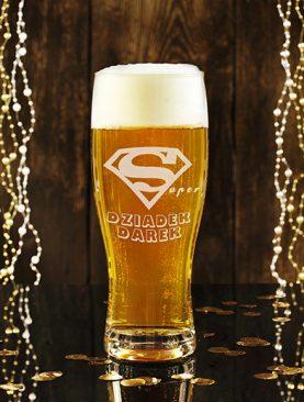 Szklanka do piwa z dowolnym GRAWEREM na prezent