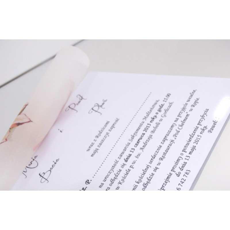 Zaproszenie ślubne Zaproszenia Na Wesele Wzór 123 Dekorak