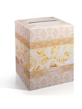 Pudełko na koperty, telegramy kopertówka Kolekcja Złota