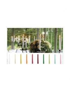 Świece stożkowe stołowe szpice 29 cm