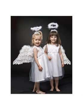 Sukienka aniołka strój przebranie anioła 4-6 lat