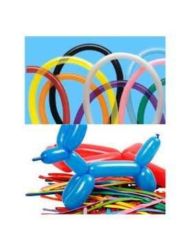 Balony modeliny rurki długie do modelowania