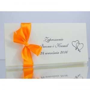 Zaproszenie ślubne zaproszenia na wesele Wzór 127