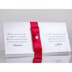 Zaproszenie ślubne zaproszenia na wesele Wzór 140
