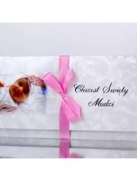 Zaproszenie na Chrzest Chrzciny PERSONALIZACJA Wzór 13