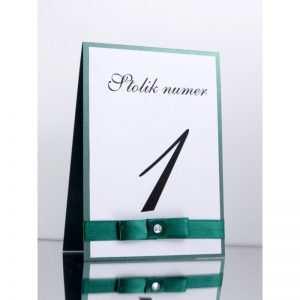 Numer stolika numeracja stołów Wzór 4